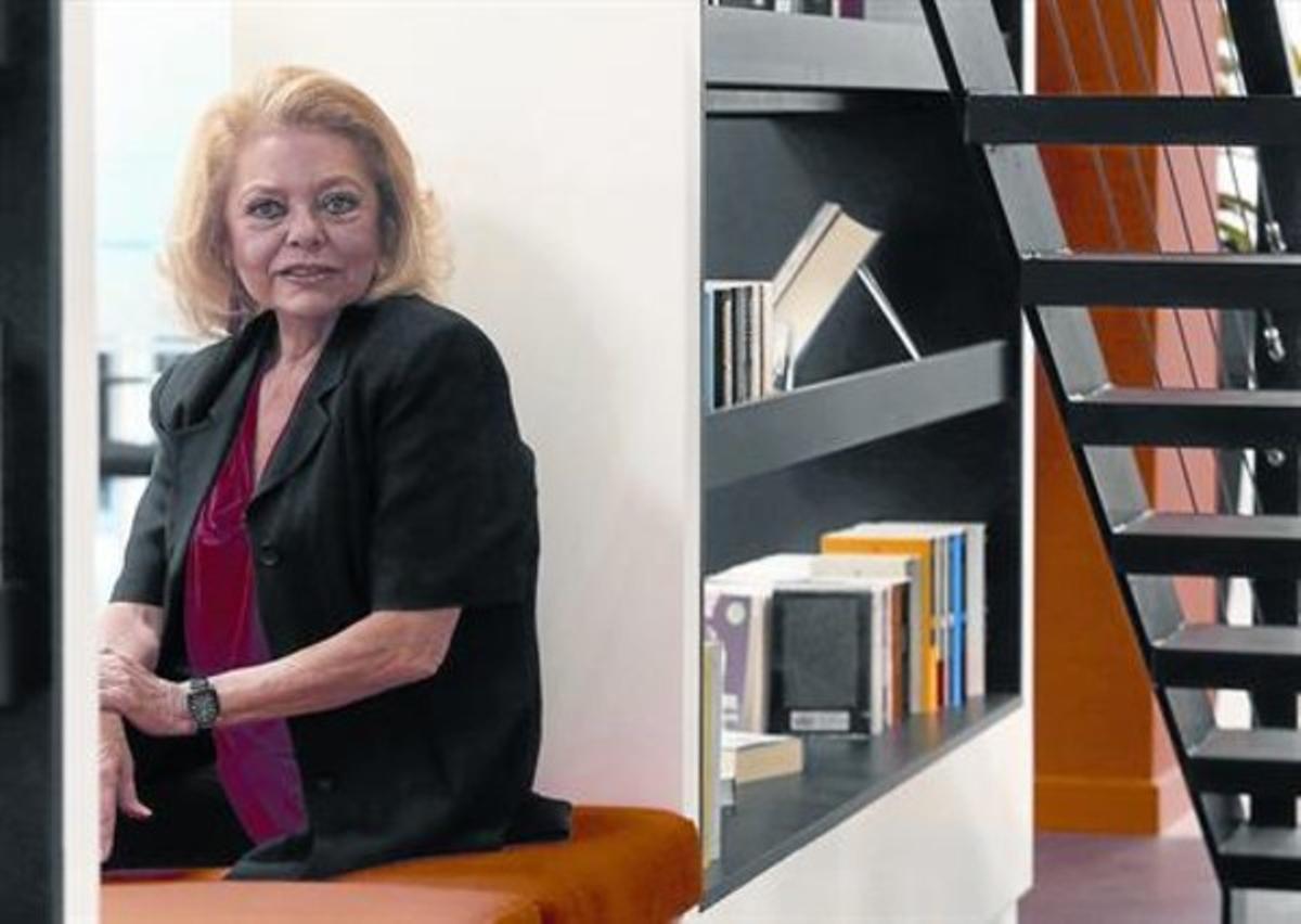 Mayra Gómez Kemp, en Madrid, la pasada semana.