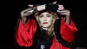 Madonna s'esfondra en ple concert