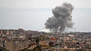 15 morts en xocs a Idlib malgrat l'alto el foc