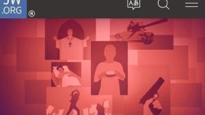 Imagen de la página web de Testigos de Jehová.