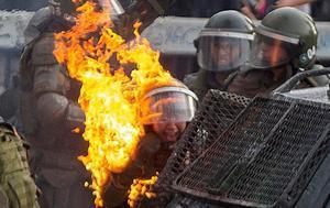 La violència policial s'agreuja en una nova onada de protestes a Xile