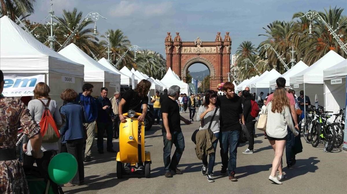 Feria Expoelèctric en Barcelona.