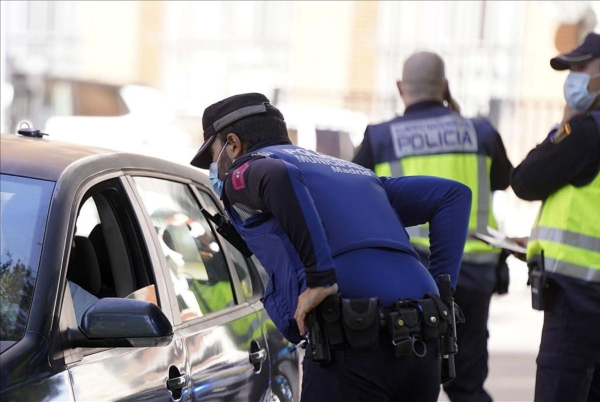 Imagen de archivo de la Policía Nacional y Municipal de Madrid.