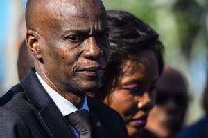El presidente haitiano, Jovenel Moise.