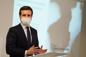 Pablo Casado, el 18 de enero, pronuncia una conferencia en el Cercle d'Economia.