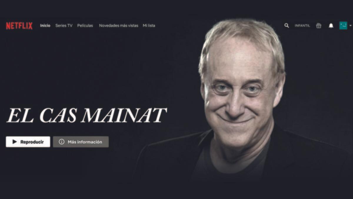 Mainat se ríe de sí mismo aprovechándose de Netflix: ¿Una serie sobre su vida?