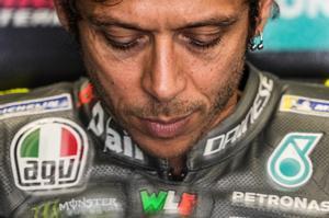 El italiano Valentino Rossi, de 42 años, cumple su temporada nº 26 en el Mundial.