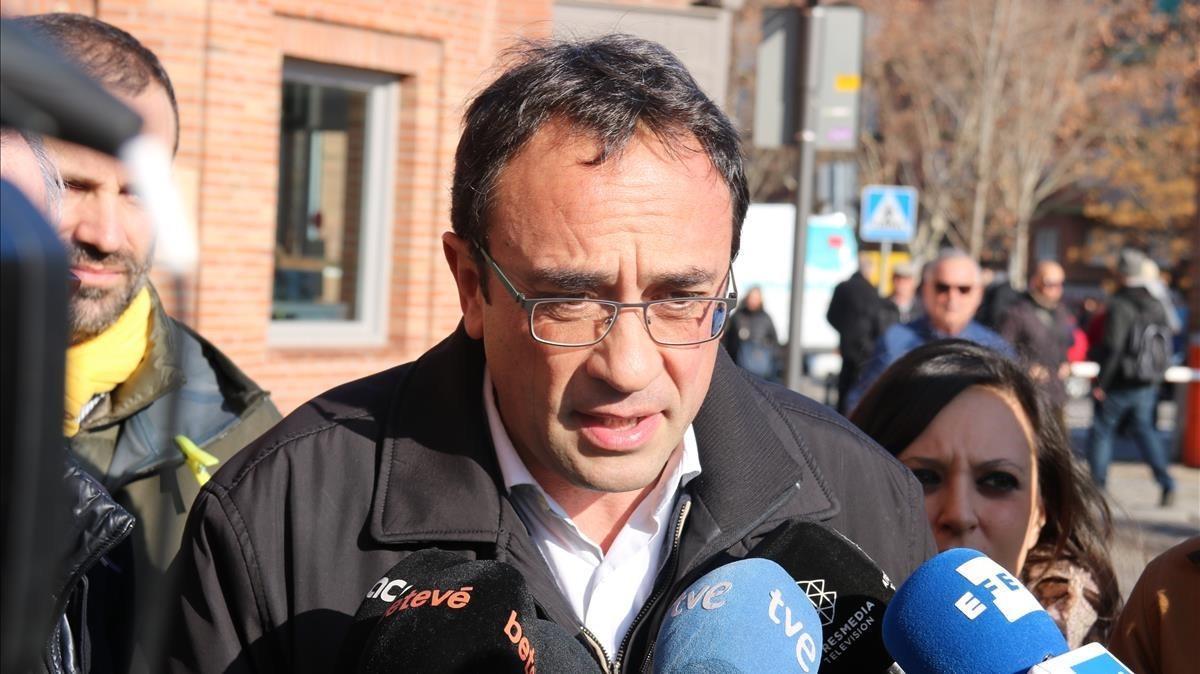 El 'exconseller' y diputado de JxCat Josep Rull.