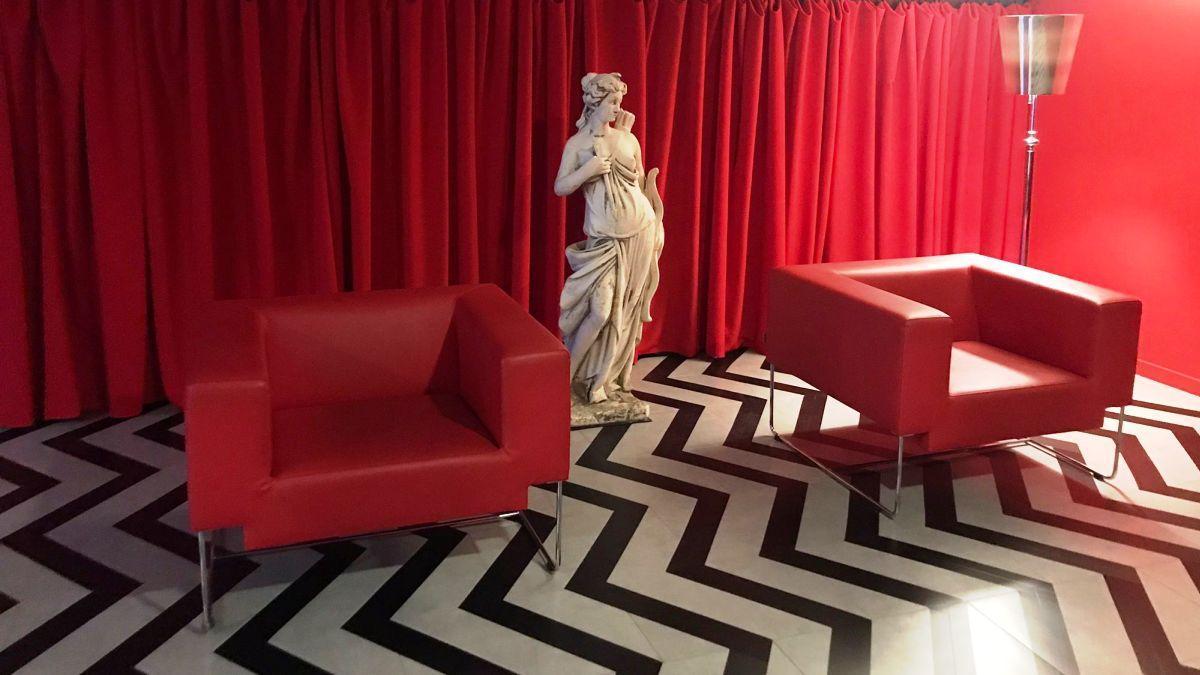 En el Balmes puede verse una reproducción de un escenario emblemático de 'Twin Peaks'.