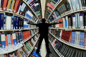 Agobio, algo normal ante la perspectiva de ordenar la propia biblioteca.