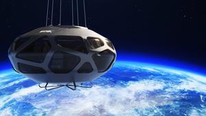 Imagen de la cápsula que transportará a los pasajeros al espacio