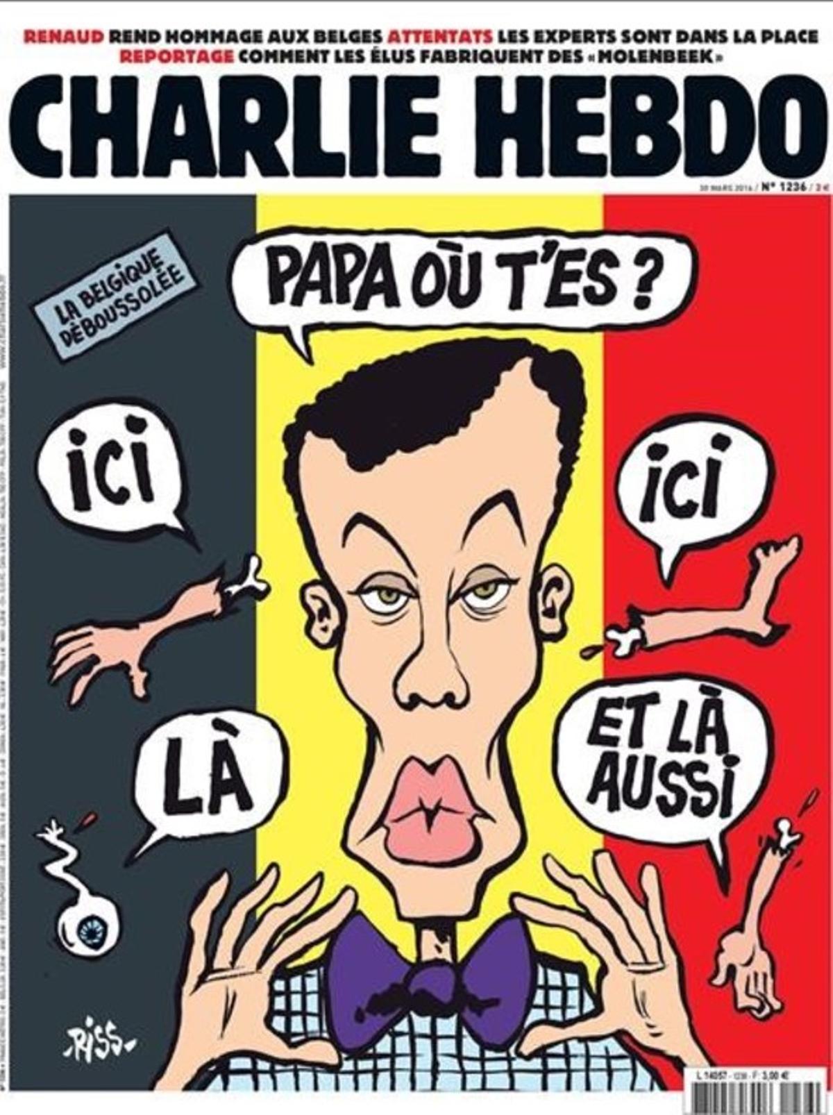 Portada de la revista satírica 'Charlie Hebdo' que ha desatado la polémica.