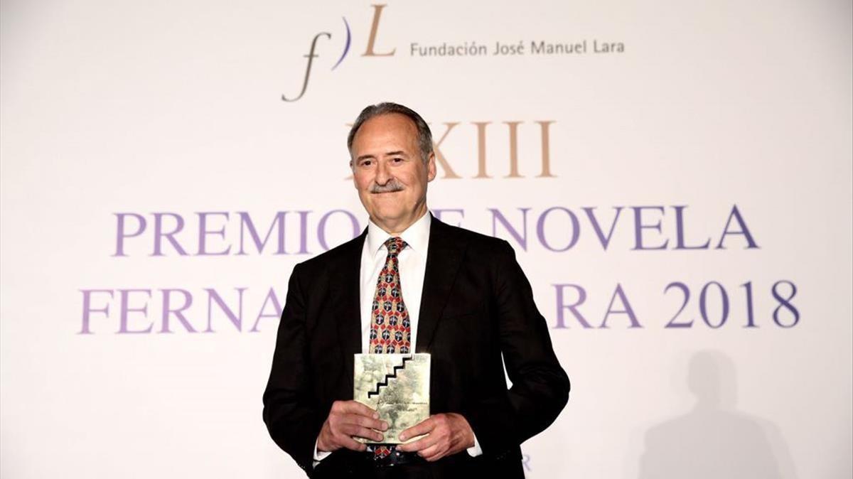 El català Jorge Molist guanya el premi Lara de Novel·la