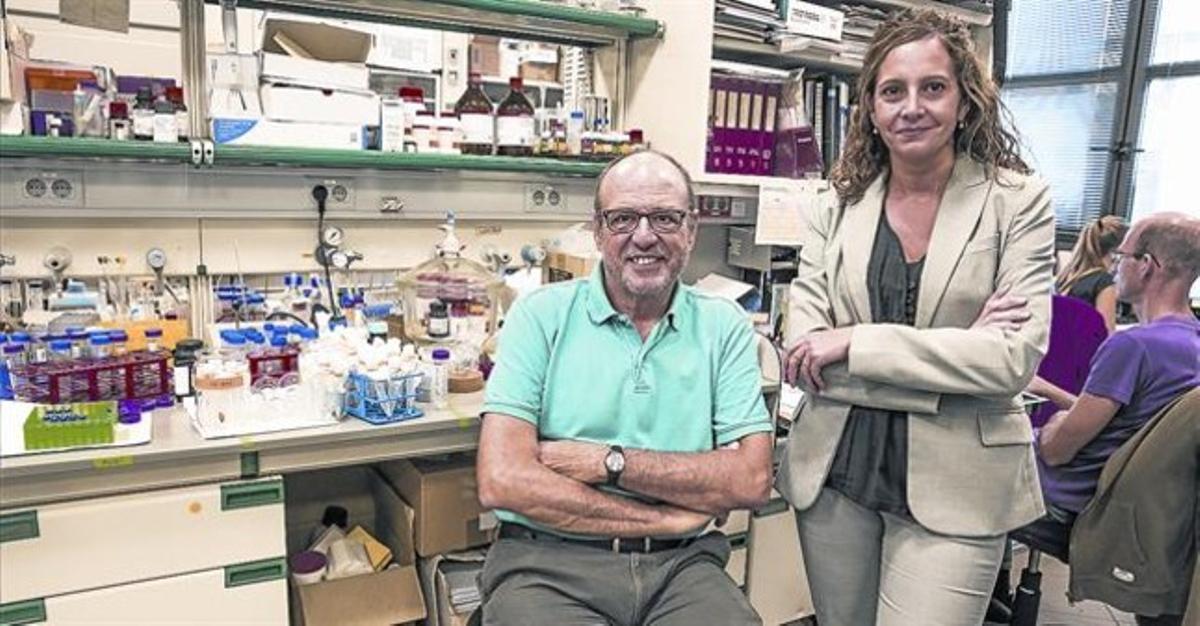 Ernest Giralt y Teresa Tarragó, fundadores de la empresa biotecnológica Iproteos.