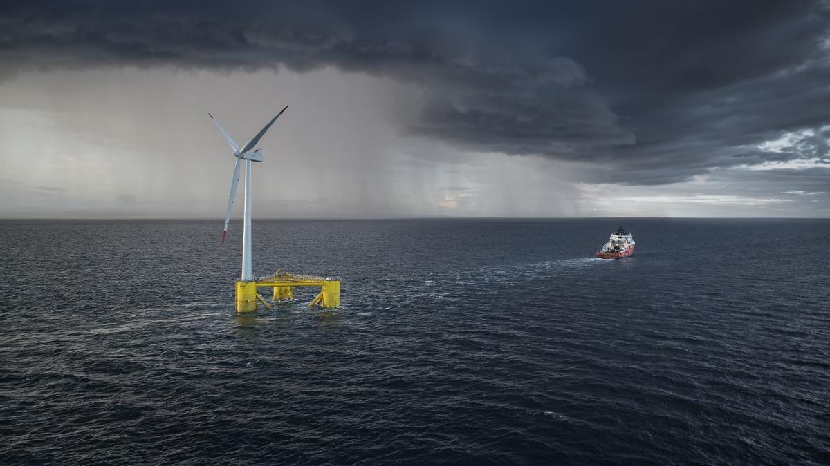 ACS finaliza 'Kincardine' el parque eólico marino flotante más grande del mundo