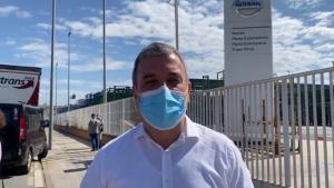 Collboni expressa la seva solidaritat al comitè d'empresa de Nissan: «Anirem fins al final»