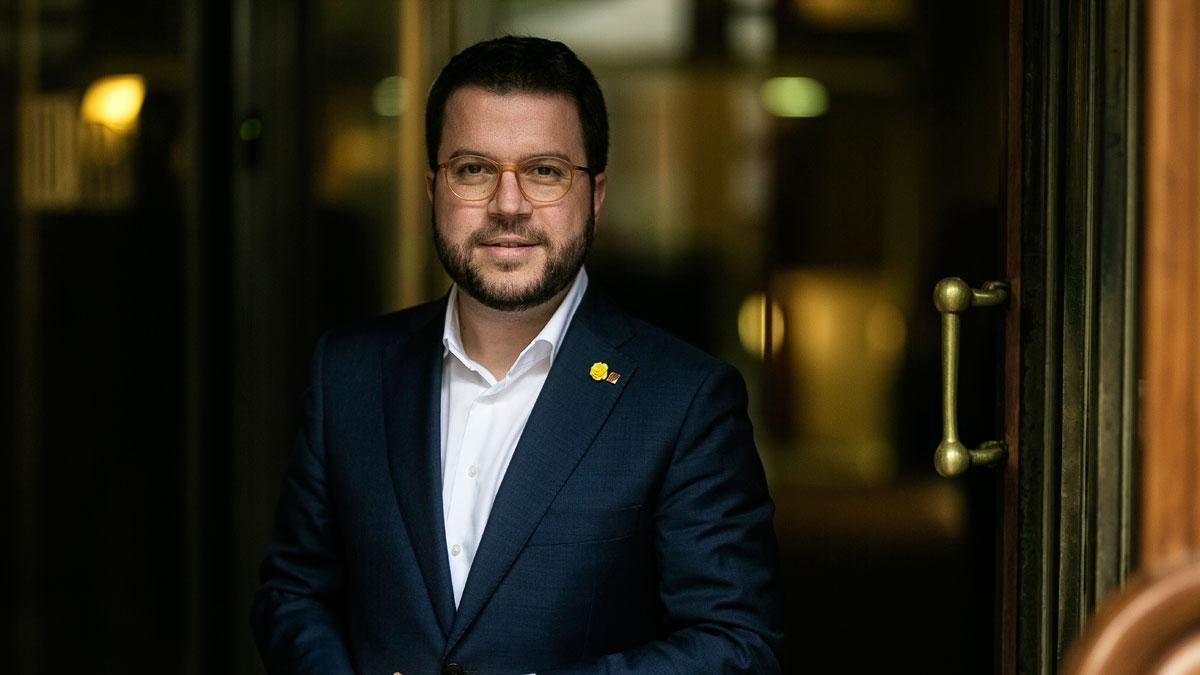 Entrevista con Pere Aragonès, el vicepresidente del Govern