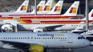 El bloqueig aeri amenaça 900.000 llocs de treball en les aerolínies a Espanya
