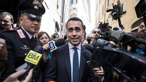 El líder del Movimiento Cinco Estrellas (M5S), Luigi di Maio.