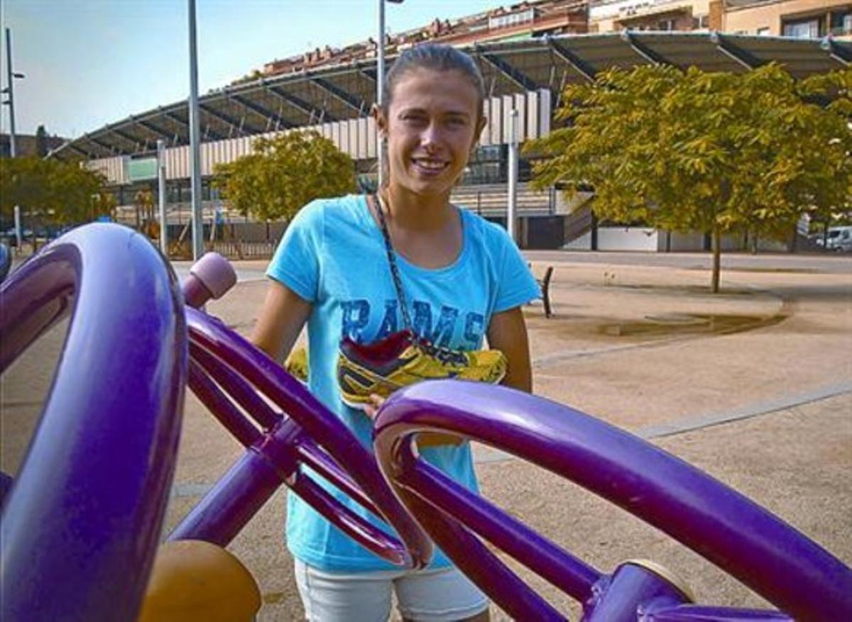 Carla Bertos: «Crucé la línea de meta y no me lo podía creer...»
