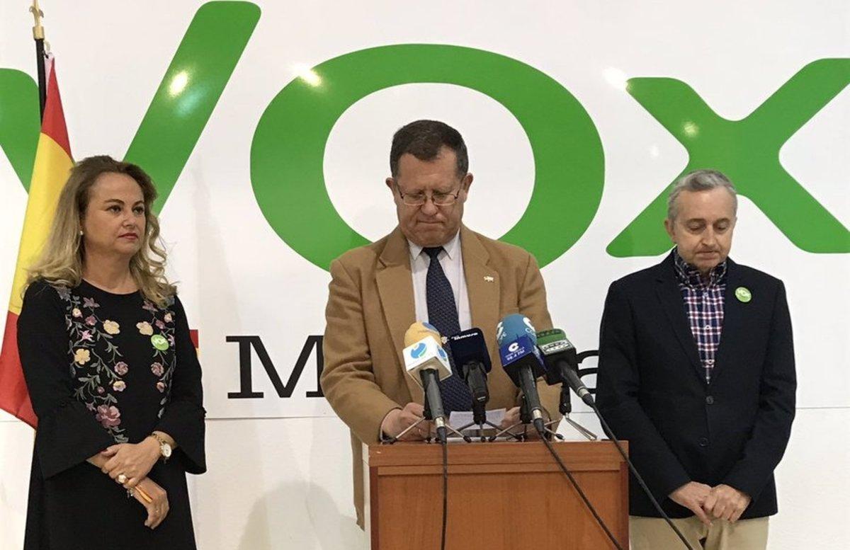 El candidato de Vox al Congreso en Melilla en las pasadas elecciones generales,José Antonio Herráiz.
