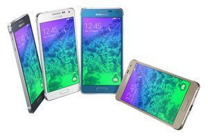 El nuevo Samsung Galaxy Alpha en diferentes colores