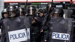Interior té 200 antiavalots més a Catalunya des de la Diada
