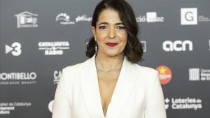 La actriz Nora Navas, coimpulsora de la campaña.
