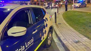 Detingut per, presumptament, atacar amb un filferro un agent a Esplugues