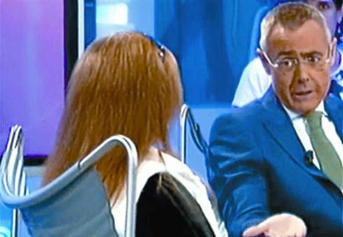 El bloguero Pablo Herreros. A la izquierda, la polémica 'Noria'.