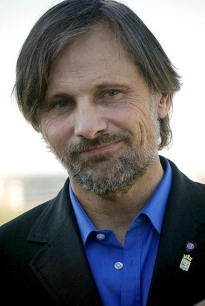 Viggo Mortensen, en Lleida.