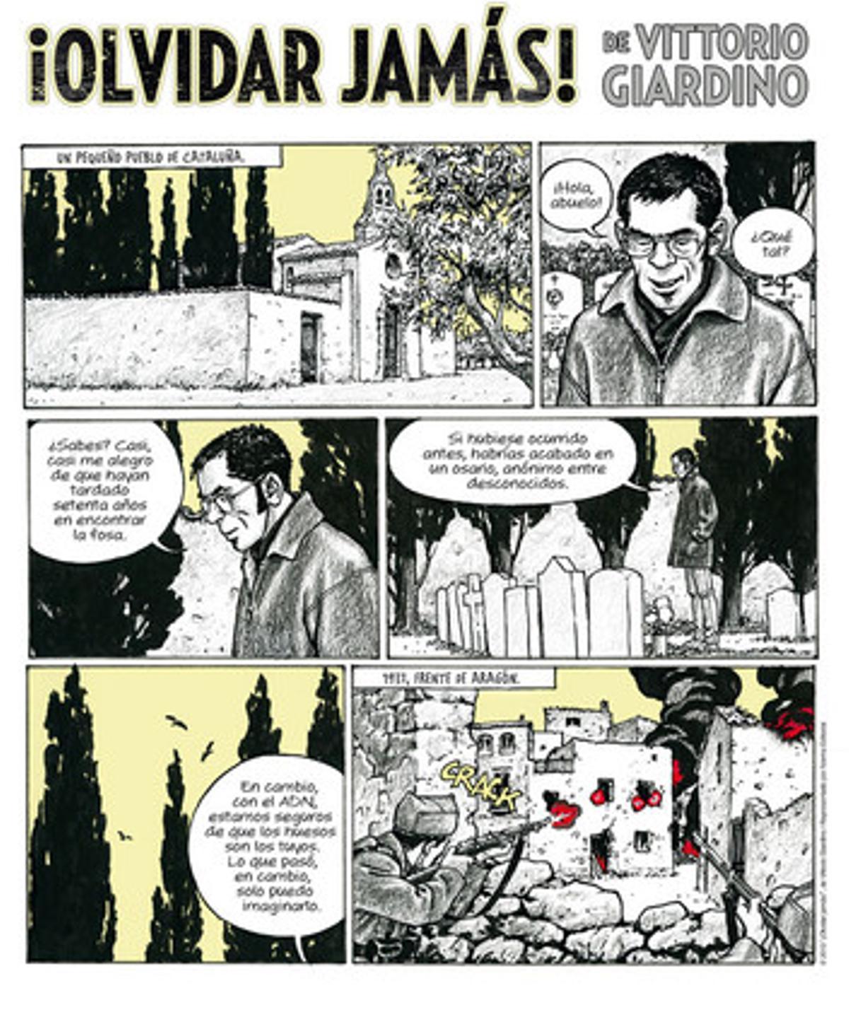 El còmic según la visión de Vittorio Giardino.