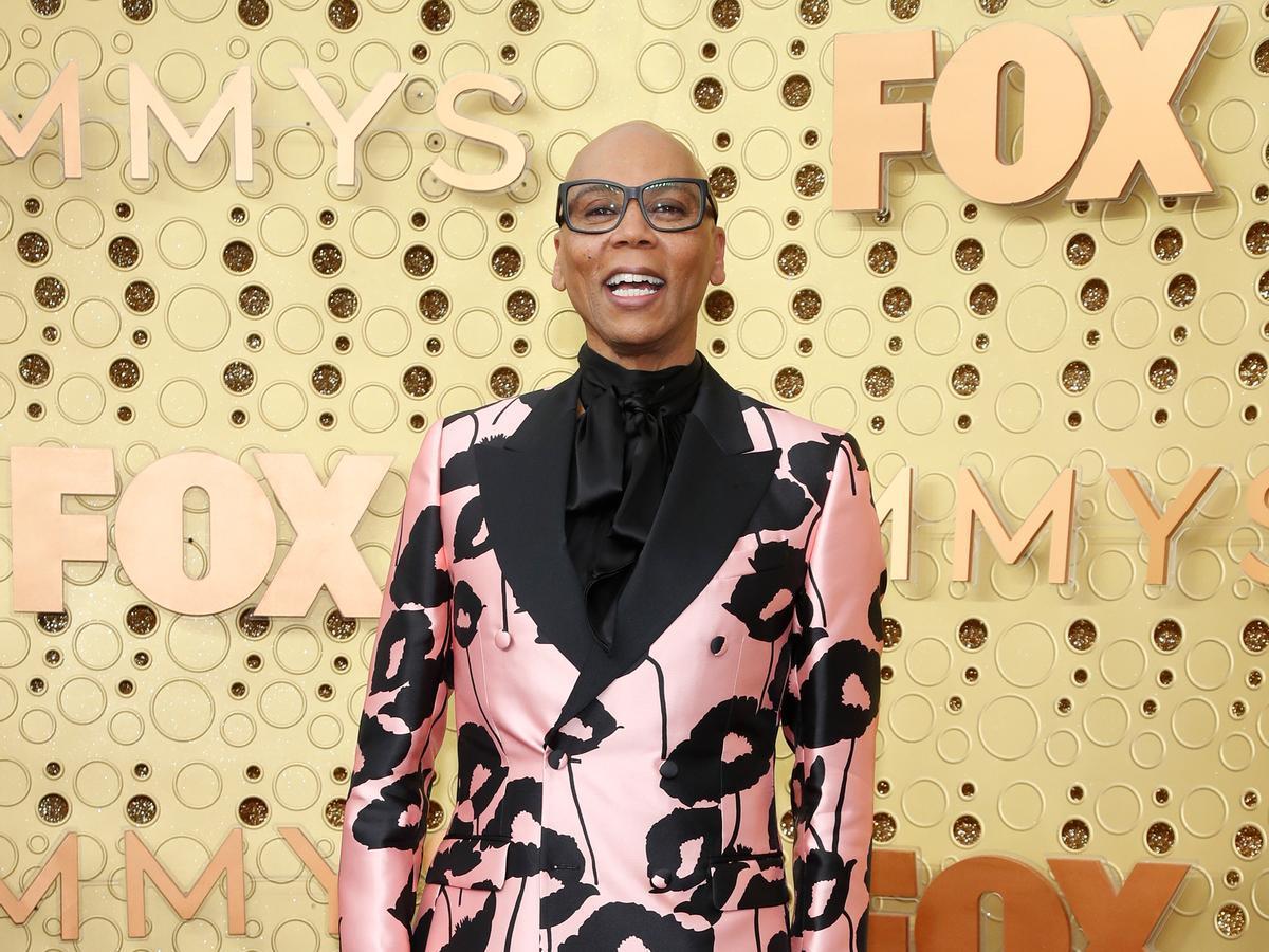 RuPaul en la gala de los premios Emmy 2019
