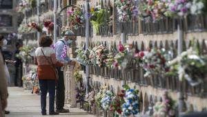 Cementerio del Poblenou en Barcelona la semana previa a Todos los Santos
