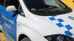 Un vehículo de la Policía Local de Mataró