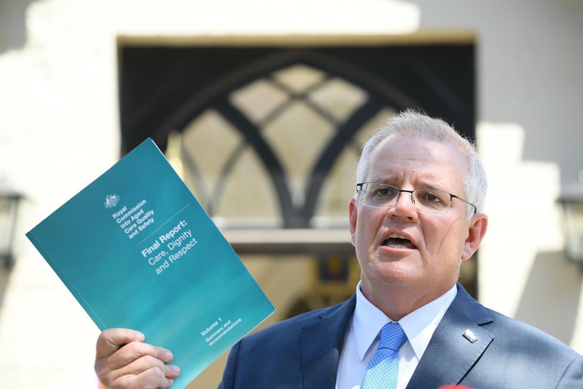 El primer ministro australiano, Scott Morrison