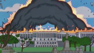 Les escenes d''Els Simpson' que 'van predir' l'atac al Capitoli el 1999