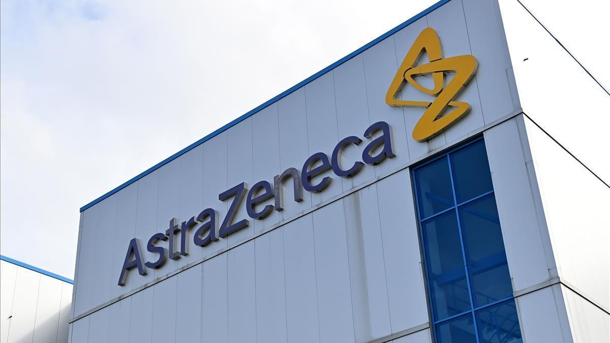 Imagen de uno de los edificios de la multinacional británica-sueca AstraZeneca en Macclesfield, Reino Unido.