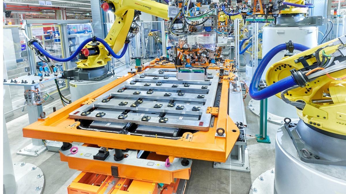 Planta de producción de baterías del Grupo Volkswagen.