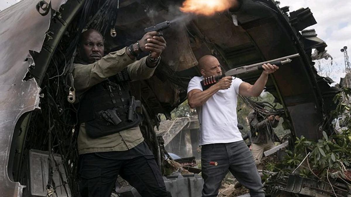 Una imagen de 'Fast & Furious 9'.