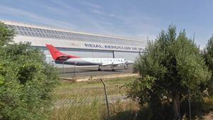 El Aeroclub de Reus.