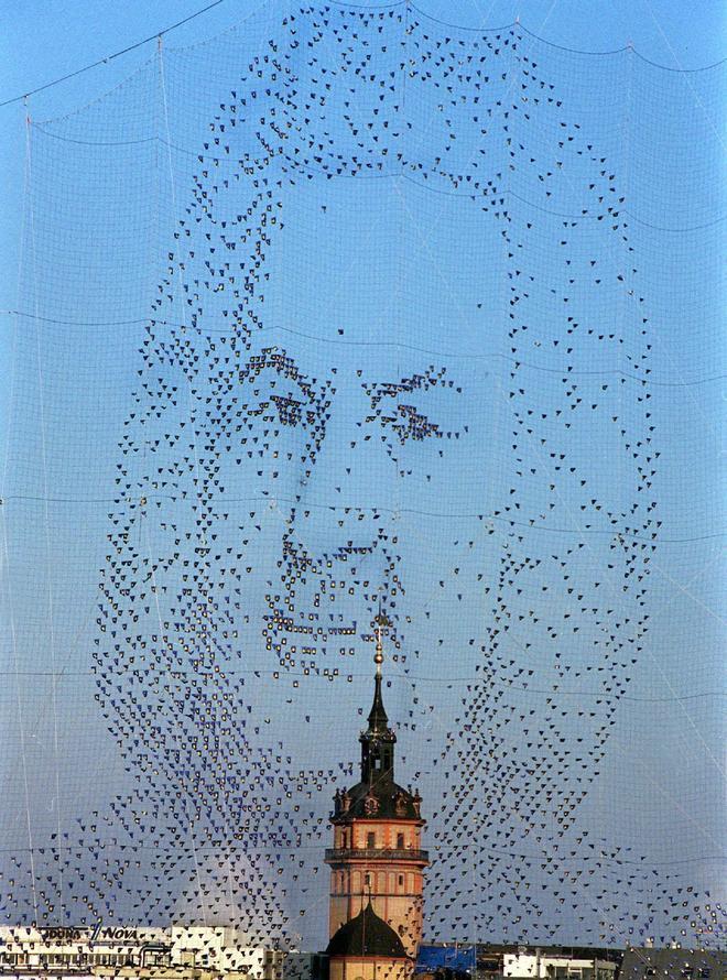 Instalación sobre Bach