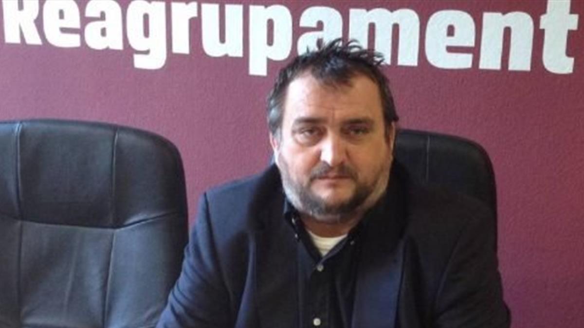 El presidente de Reagrupament y excandidato de JxCat, Josep Sort.