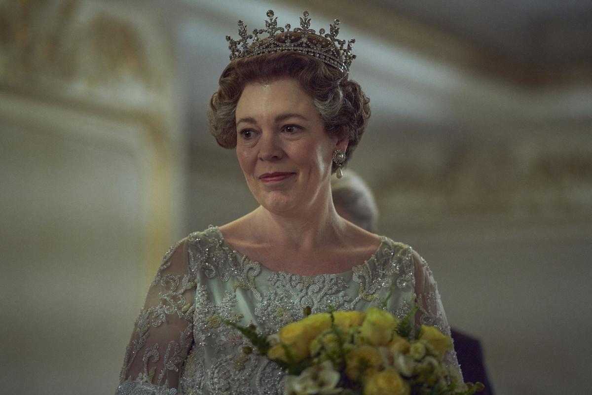 Olivia Colman en la cuarta temporada de 'The crown'.