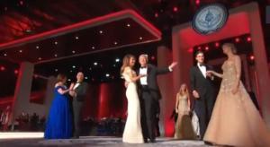 El baile inaugural de Donald y Melania Trump