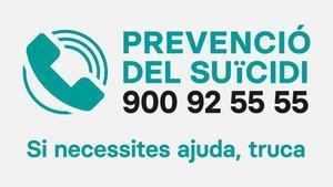 900.925.555, el telèfon d'atenció gratuït per prevenir el suïcidi