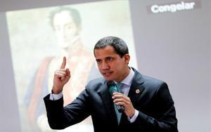 Juan Guaidó, el autodenominado presidente de Venezuela.