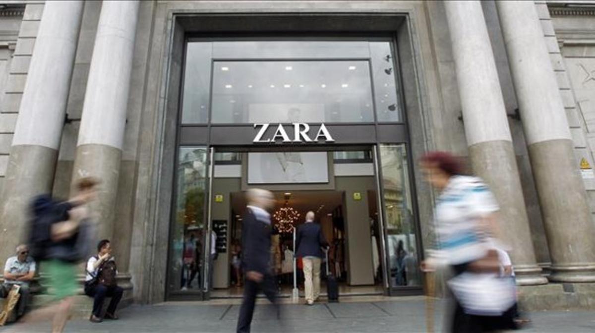 Tienda de Zara en Barcelona.