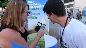 Sant Boi acull una prova pilot per incentivar el reciclatge d'envasos a través del mòbil