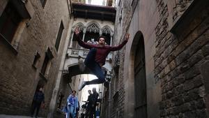 "El ""cinematogràfic"" pont del Bisbe"